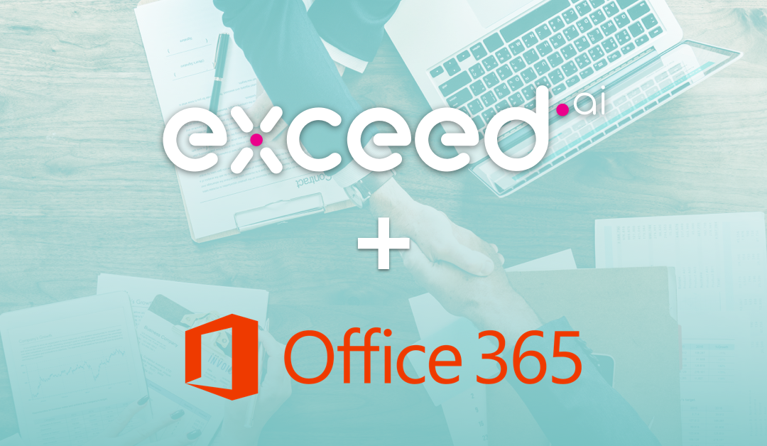 Exceed.ai Update: Sync with Office 365 for Improved Lead Conversions