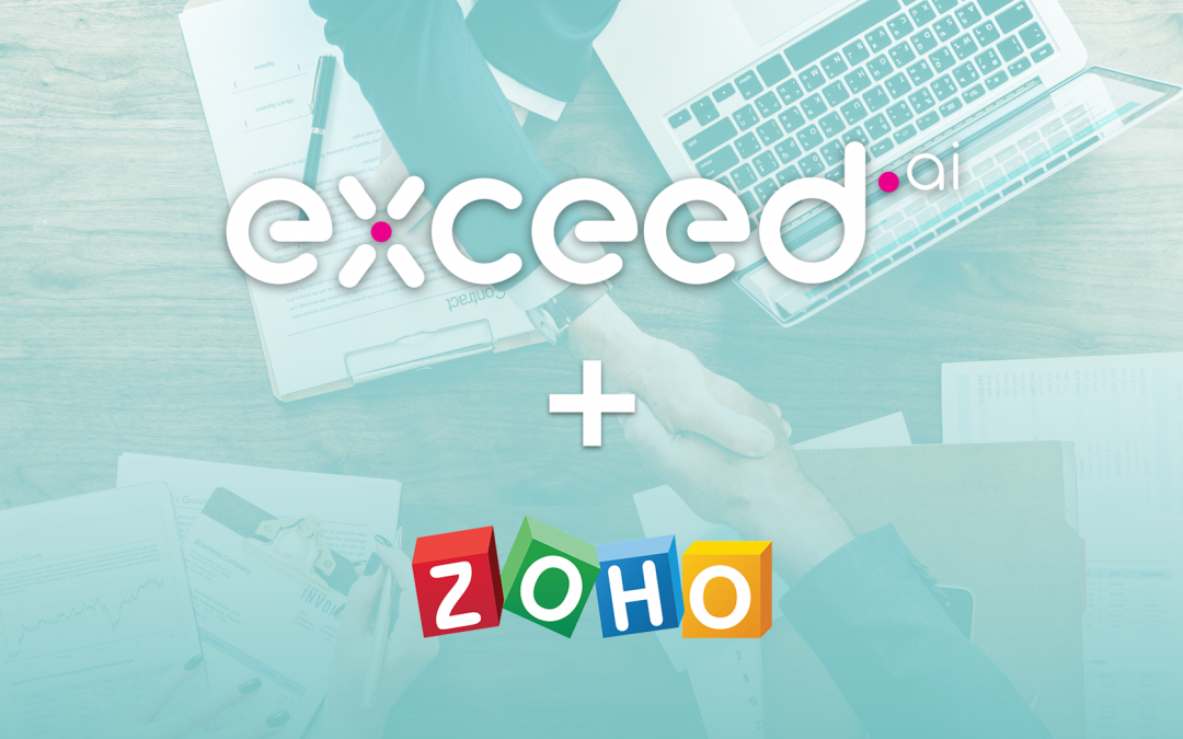 Exceed.ai Update: Integrate your Zoho Account!