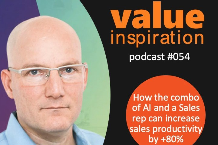 How the combo of AI and a Sales rep can increase sales productivity by +80%