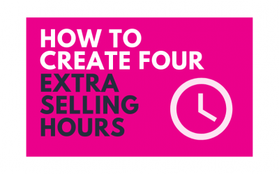 How to Create 4 Extra Selling Hours for Your Reps, Backed by Research