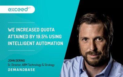 How Demandbase Beats Its Marketing Quotas With Intelligent Automation