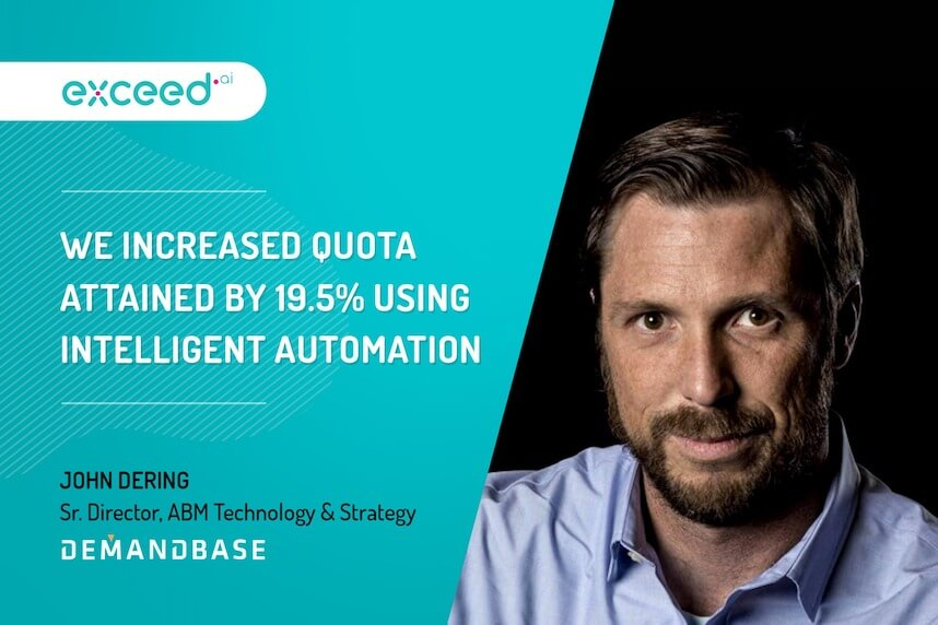 How Demandbase Beats Its Marketing Quotas With Intelligent Automation
