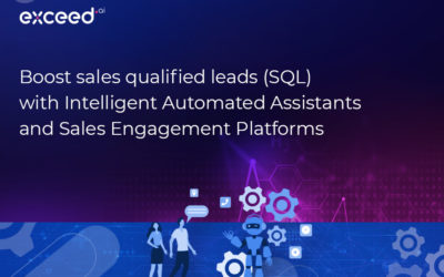 Boost sales qualified leads (SQL) with Intelligent Automated Assistants and Sales Engagement Platforms