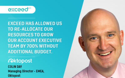 How Exceed Enabled Oktopost To Grow Their Sales Team by 700% With No Additional Budget